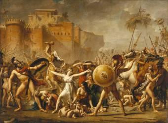 Les Sabines (Jacques Louis David) - Muzeo.com
