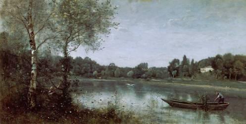 L'Etang de Ville d'Avray (Corot Jean-Baptiste Camille) - Muzeo.com