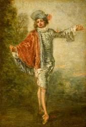 L'Indifférent (Watteau Antoine) - Muzeo.com