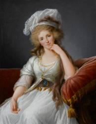 Louise Marie Adelaïde de Bourbon-Penthiève, duchesse d'Orléans (1753-1821) (Elisabeth Vigée Le Brun) - Muzeo.com