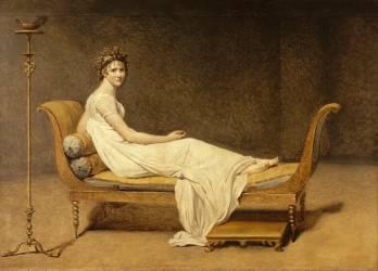 Madame Récamier (1777-1825) (David Jacques Louis) - Muzeo.com
