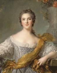 Madame Victoire de France (1733-1799) (Jean-Marc Nattier) - Muzeo.com