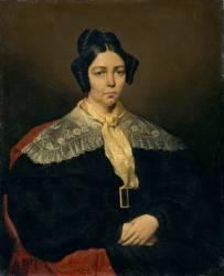 Marie Madeleine Chasseriau, née Couret (1791-1866) mère de l'artiste (Chasseriau Théodore) - Muzeo.com