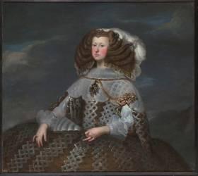 Marie-Anne d'Autriche, reine d'Espagne (seconde épouse de Philippe III) (1634-1696) (anonyme) - Muzeo.com