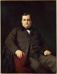 Napoléon Joseph Charles Paul Bonaparte en prince Napoléon (1822-1891) homme politique (Flandrin Hippolyte) - Muzeo.com