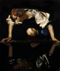 Narcissus (Caravaggio) - Muzeo.com