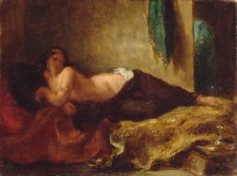 Odalisque (Delacroix Eugène) - Muzeo.com