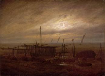 Paysage de bord de mer (Caspar David Friedrich) - Muzeo.com