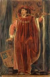 Philippe III le Bon, duc de Bourgogne en 1419 (1396-1467) - en costume de grand-maître de l'ordre de la Toison d'Or institué par lui à Bruges en 1429 (Devéria Eugène) - Muzeo.com