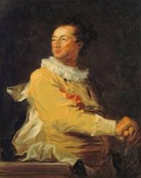Portrait d'Anne-François d'Harcourt, duc de Beuvron en personnage de la comédie italienne (Fragonard Jean-Honoré) - Muzeo.com