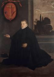 Portrait de don Cristobal Suarez de Ribera (Velazquez Diego) - Muzeo.com