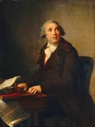Portrait de Giovanni Paisiello (1741-1816), compositeur (Vigée-Le Brun Elisabeth...) - Muzeo.com