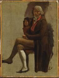 Portrait de Girodet (Louis-Léopold Boilly) - Muzeo.com