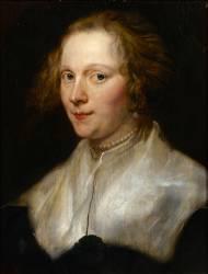 Portrait de jeune femme (Van Dyck Antoon) - Muzeo.com