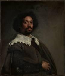 Portrait of Juan de Pareja (Diego Velazquez) - Muzeo.com