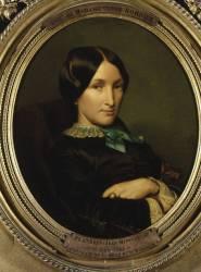 Portrait de la mère du docteur Bordier (Flandrin Hippolyte) - Muzeo.com