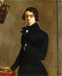 Portrait de l'artiste (Théodore Chassériau) - Muzeo.com