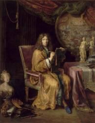 Portrait de l'artiste (Mignard Pierre) - Muzeo.com