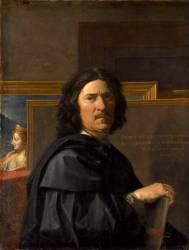 Portrait de l'artiste (Nicolas Poussin) - Muzeo.com