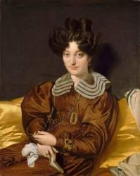 Portrait de madame Marcotte de Sainte Marie (Jean-Auguste-Dominique Ingres) - Muzeo.com