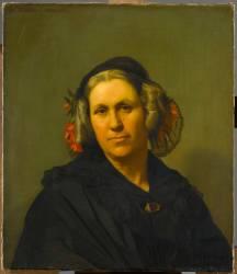 Portrait de madame Vinet (Flandrin Hippolyte) - Muzeo.com