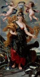 Portrait de Marie de Médicis en Bellone (Rubens Pierre Paul) - Muzeo.com
