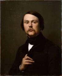 Portrait d'homme (Flandrin Hippolyte) - Muzeo.com