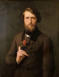 Portrait du Comte Félix d'Arjuzon (Flandrin Hippolyte) - Muzeo.com