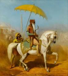 Randjiit Sing Baadour, roi de Lahore (Alfred Dedreux) - Muzeo.com