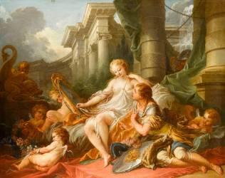 Renaud et Armide (Boucher François) - Muzeo.com