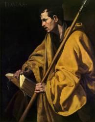 Saint Thomas (Diego Velázquez) - Muzeo.com
