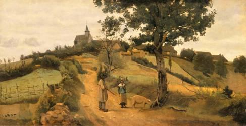 Saint-André-en-Morvan (Nièvre) (Corot Jean-Baptiste Camille) - Muzeo.com