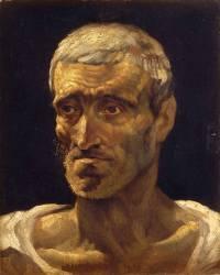Tête de naufragé (Théodore Géricault) - Muzeo.com