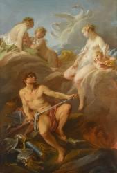 Vénus demandant à Vulcain des armes pour Enée (Boucher François) - Muzeo.com