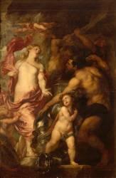 Vénus demande à Vulcain des armes pour Enée (Van Dyck Antoon) - Muzeo.com