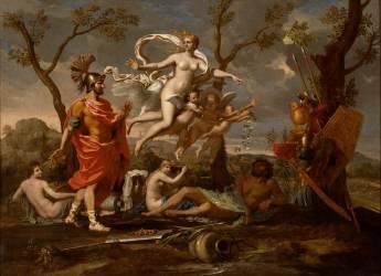 Vénus montrant ses armes à Enée (Nicolas Poussin) - Muzeo.com