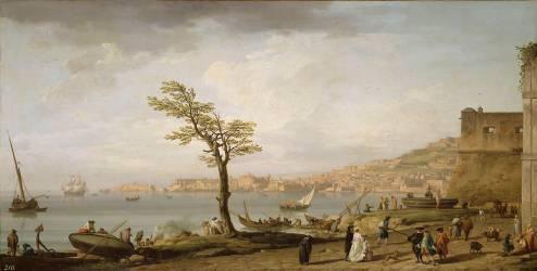 Vue du Golfe de Naples (Vernet Joseph) - Muzeo.com
