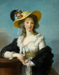 Yolande-Gabrielle-Martine de Polastron, duchesse de Polignac (1749-1793) (Vigée-Le Brun Elisabeth...) - Muzeo.com