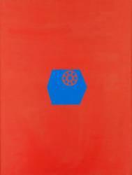Cadrans bleus dans boîtes rouges (Laine Lenore) - Muzeo.com