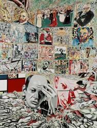 The background of Pollock (Erró) - Muzeo.com