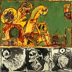L'oeuvre au noir (Pierre Alechinsky) - Muzeo.com
