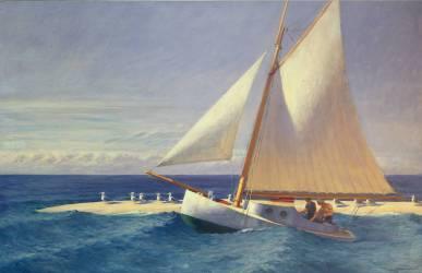 Sailing Boat (Edward Hopper) - Muzeo.com