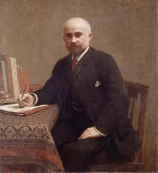 Adolphe Jullien (1840-1932) historien et critique musical ami et historiographe de l'artiste (Fantin-Latour Henri) - Muzeo.com