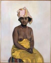 Africaine (Vallotton Félix) - Muzeo.com