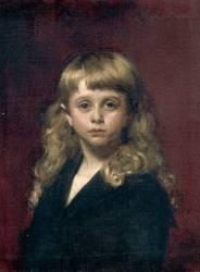 André Germain, enfant (Carolus-Duran) - Muzeo.com
