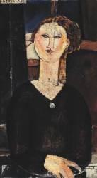 Antonia (Modigliani Amedeo) - Muzeo.com