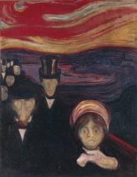 Anxiety (Munch Edvard) - Muzeo.com