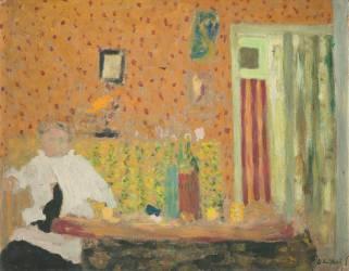 Après le repas (Vuillard Edouard) - Muzeo.com