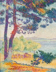 Afternoon at Pardigon (Var) (Henri-Edmond Cross) - Muzeo.com