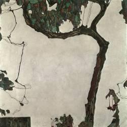 Autumn Tree (Egon Schiele) - Muzeo.com